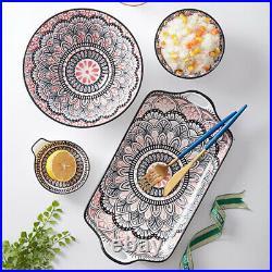 Japanese Tableware Plate Set Ceramic Dinnerware Restaurant Home Kitchen Supplies