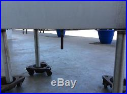 Jockey Box 30 x 19 Stainless Underbar Ice Bin withCold Plate #3142