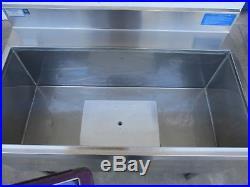 Jockey Box 36 x 21 Underbar Ice Bin/Jockey Box withCold Plate #3387