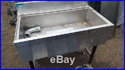 Jockey box with built in cold plate NSF