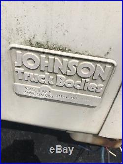 Johnson Truck Bodies Cold Plate Freezer Body