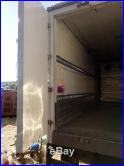 Johnson Truck Bodies Cold Plate Freezer Body with Tri-fold swing pallet doors