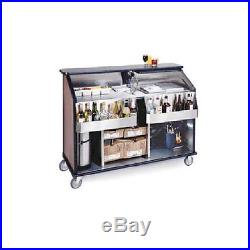 Lakeside 889 62-1/2 Portable Bar with Single Ice Bin and Cold Plate