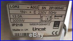 Lincat hot plate 3000w. 240v. 600mm ×320mm. Made in UK