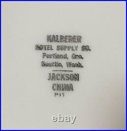 Moby Dick Whale Nautical Restaurant 6 Plate Kalberer Hotel Supply Jackson China