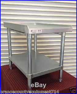 NEW 18 X 30 Equipment Stand #2083 Griddle Hot Plate Table Stainless Steel