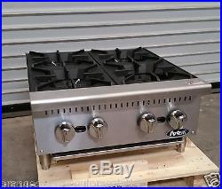 NEW 24 Hot Plate Cook Top Range Atosa ATHP-24-4 #2547 Commercial Stove Burner