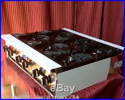 NEW 36 6 Burner Hot Plate Range Gas Stratus SHP36-6 #1183 Commercial Restaurant