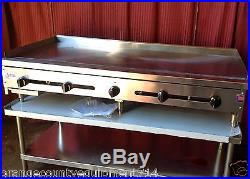 NEW 60 Gas Griddle Flat Grill 1 Plate Stratus #1256 Planchas Manual Commercial