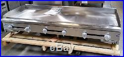 NEW 72 Griddle Flat Top Grill Stratus 1 Plate #2897 Commercial Plancha NSF Hot