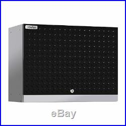 NewAge Products Performance 2.0 Diamond Plate Wall Cabinet (Black)