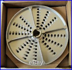New Hobart FP150 Food Processor Plates Blades DIcing Grid Slicer Parts 6 Pc Set