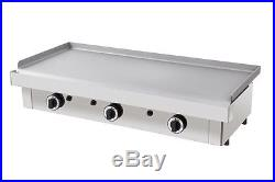 New Infernus Gas Griddle 100cm Italian griddle hot plate Parry Lincat style
