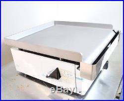 New Infernus Gas Griddle 40cm Italian griddle hot plate Parry Lincat style