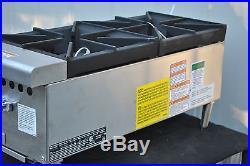 New Vulcan Vcrh12-1 50,000 Btu Natural Gas 2 Burner Hot Plate
