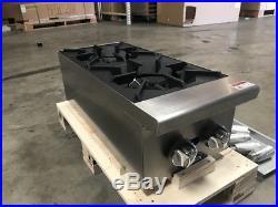 Nsf 12 Hot Plate Burner Gas Range Stratus Cook Restaurant Equipment