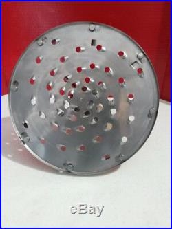 Pelican Head Cheese Shredder Plate Holder #22 Hub 5/16 Shredder Disc3/4 Shaft