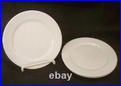 Restaurant Equipment Supplies 3 BONE CHINA PLATES Oneida 6 diameter White