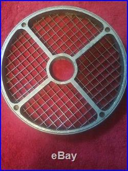 Restaurant Hallde Food Processor Dicing Dicer Plate Grid Hobart