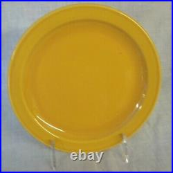 Restaurant Supplies 12 NEW ONEIDA SHAPE 2000 PLATES YELLOW COLOR 7.5 DIAMETER