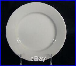 Restaurant Supplies 12 WHITE CHINA PLATES 7.25 diameter