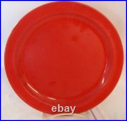 Restaurant Supplies 24 Pack Nustone Melamine Plates 8-7/8 Red