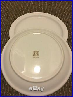 Restaurant Supplies 2 REGO CHINA PLATES 8 diameter. White Sturdy Plates