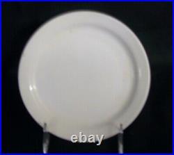 Restaurant Supplies 6 WHITE CHINA PLATES 6.5 diameter