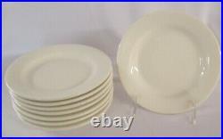 Restaurant Supplies 8 Ivory China Plates Tuxton 6.5 diameter