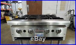 Royal Commercial 4-Burner Hot Plate