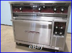SOUTHBEND H. D. COMMERCIAL (NSF) 208V 3 ELECTRIC 6 HOT PLATES STOVE withOVEN