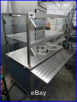 Servolift Eastern Hot Buffet Serving Line Portable Plate Warmers Soup Station