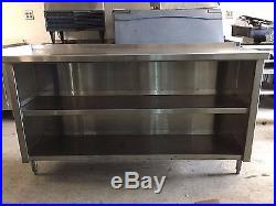 Stainless Steel Restaurant Plate Shelf/ Dish Cabinet- Nsf Certified
