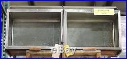 Stainless Steel Underbar Ice Bin with Cold Plate