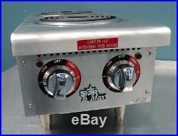 Star 502CF Hot Plate Star Max 502CF Electric Hot Plate 2 Burner 12