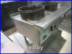 Star 602HWF Natural Gas 2-Burner Wok Hot Plate