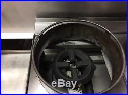 Star 603HWF Natural Gas 3-Burner Wok Hot Plate