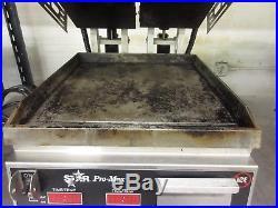 Star ProMax Smooth Plate Split Top Panini Sandwich Press GR14STE