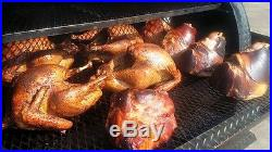 Start a BBQ Reverse Plate Smoker Concession Business Trailer Food Truck Ribs