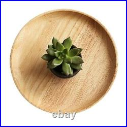 Supply Plate Wooden Display Restaurant Household Snack Serving Suitable