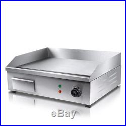 Thermomate Electric Griddle Grill BBQ Hot Plate Commercial Stainless Steel AU
