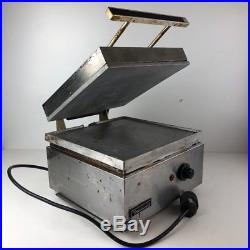 Toastswell LG-9 Speed Grill Commercial Sandwich Press Flat Plate Panini NSF