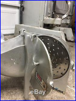 Univex VS9 Pelican Head Cheese Shredder Plate Assembly