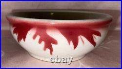 VTG Jackson China Restaurant Ware Airbrush Fish Kalberer Hotel Supply 5-3/4 Bowl