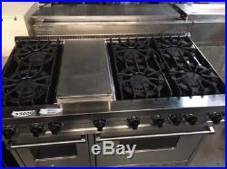 Viking Professional Range 6 Burner, 12 Griddle/Simmer Plate