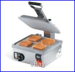 Vollrath Flat Plate Single Sandwich Press, New, 40791
