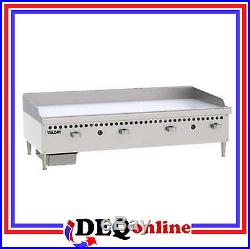 Vulcan VCRG48-M Restaurant Series Gas Griddle 48 W x 20 1/2 D Griddle Plate