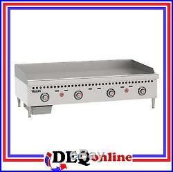 Vulcan VCRG48-T Restaurant Gas Griddle 48 W x 20 1/2 D Griddle Plate